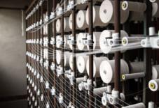 久留米絣の工程は複雑だな。