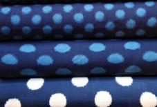 久留米絣 藍染手織りの切り売り開始!