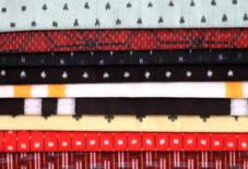 久留米絣の布展、明日より。