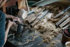 【イベント】福井県の漆器づくりと「ろくろ舎」丸物木地師