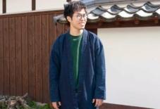 【商品紹介】結局のところB品ってなんなんだ。藍染めコート(相澤祭り袢纏) yohakuの産直×再生シリーズ