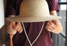 農業用 麦わら帽子入荷