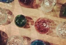 【日々のこと】涼しげな手吹きガラス。