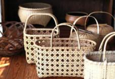 八女の竹工芸の新たな展開。