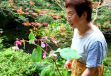 立花町の女性は面白い①。大内邸 田中真木さん。