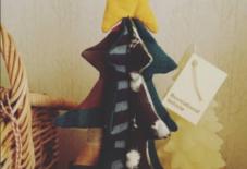 【もんぺ型紙ハギレの輪】ハギレでメリークリスマス!
