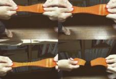 【雑感にょろり】窯入りスニーカーの秘密とは!?伸びるゴムを固める。