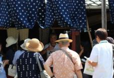 【雑感にょろり】つくる現場を知る楽しさとは。もんぺ博覧会x久留米絣ディープラーニングツアーレポート。