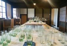 【企画展】スタートしました!!裏山の石から生まれる 緑のガラス工芸展