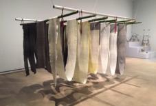 【雑感にょろり】オランダの美術館で久留米絣、展示中。Opening Traditions @ Van Abbemuseum