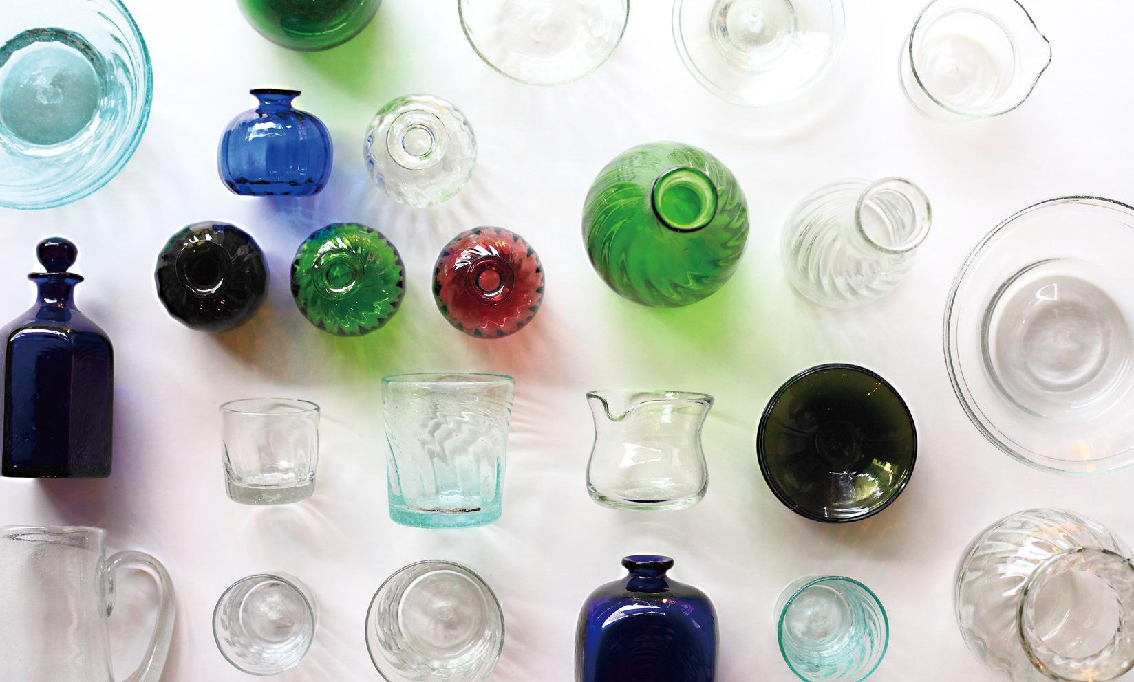 ガラス特集 / 夏の暑い時期に涼しげなガラスをご覧あれ