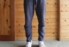 【今日のもんぺ】MONPE Stitch ブルー