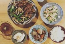 【今日のごはん】アボガドとエビが光る夕食。