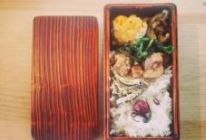 【今日のごはん】2015年初、弁当。