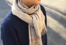 【商品紹介】翔工房 手紡ぎ手織りのマフラー