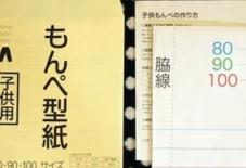【商品紹介】もんぺ型紙(子供用)