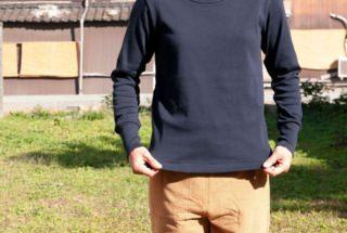 フライス ロングTシャツ