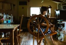 【つくり手紹介】ウールを中心に様々な素材を使いこなす。翔工房(福岡県小郡市)