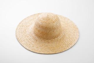 麦わら帽子 広つば