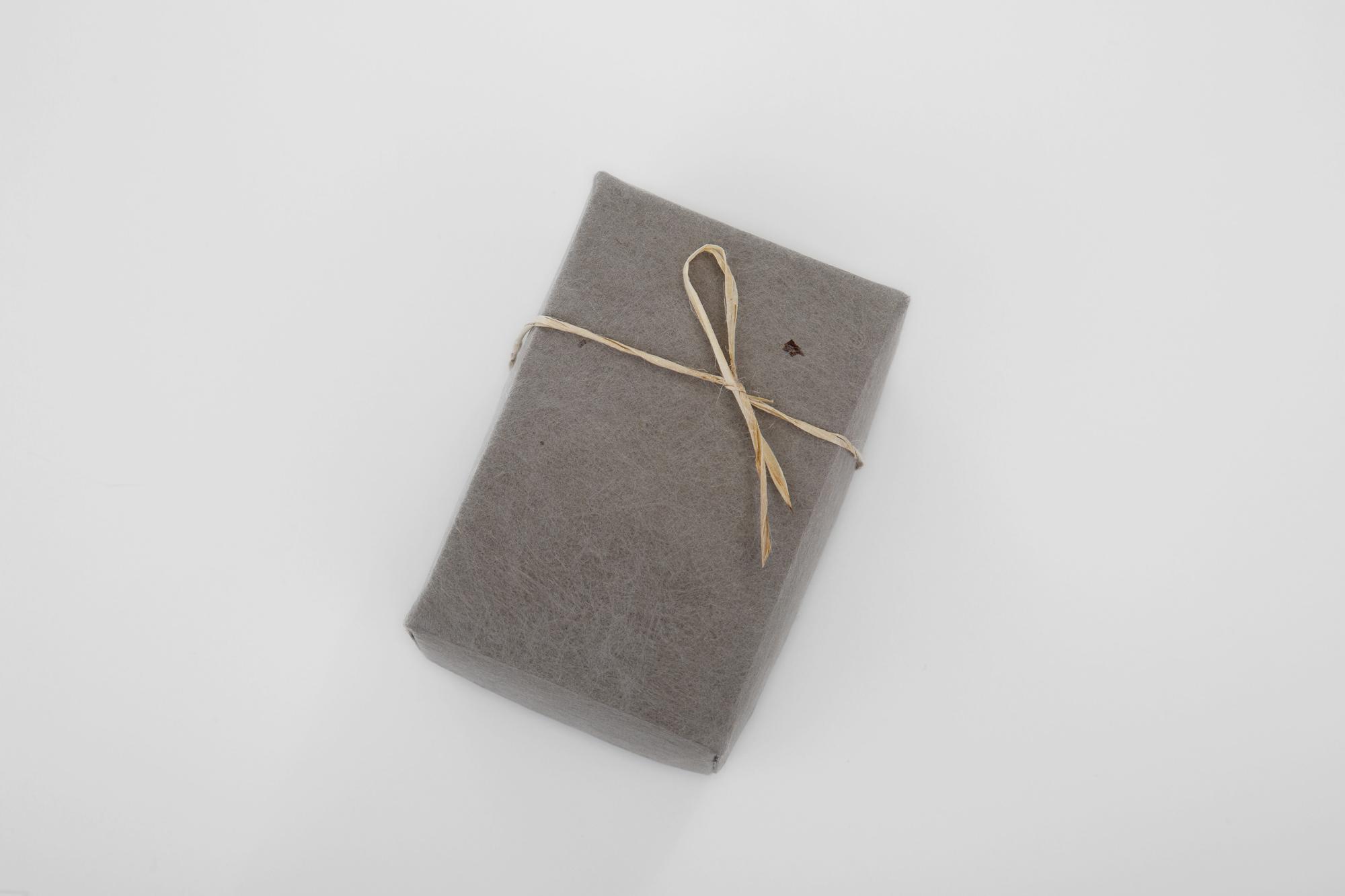 紙箱 楮 黒べんがら染