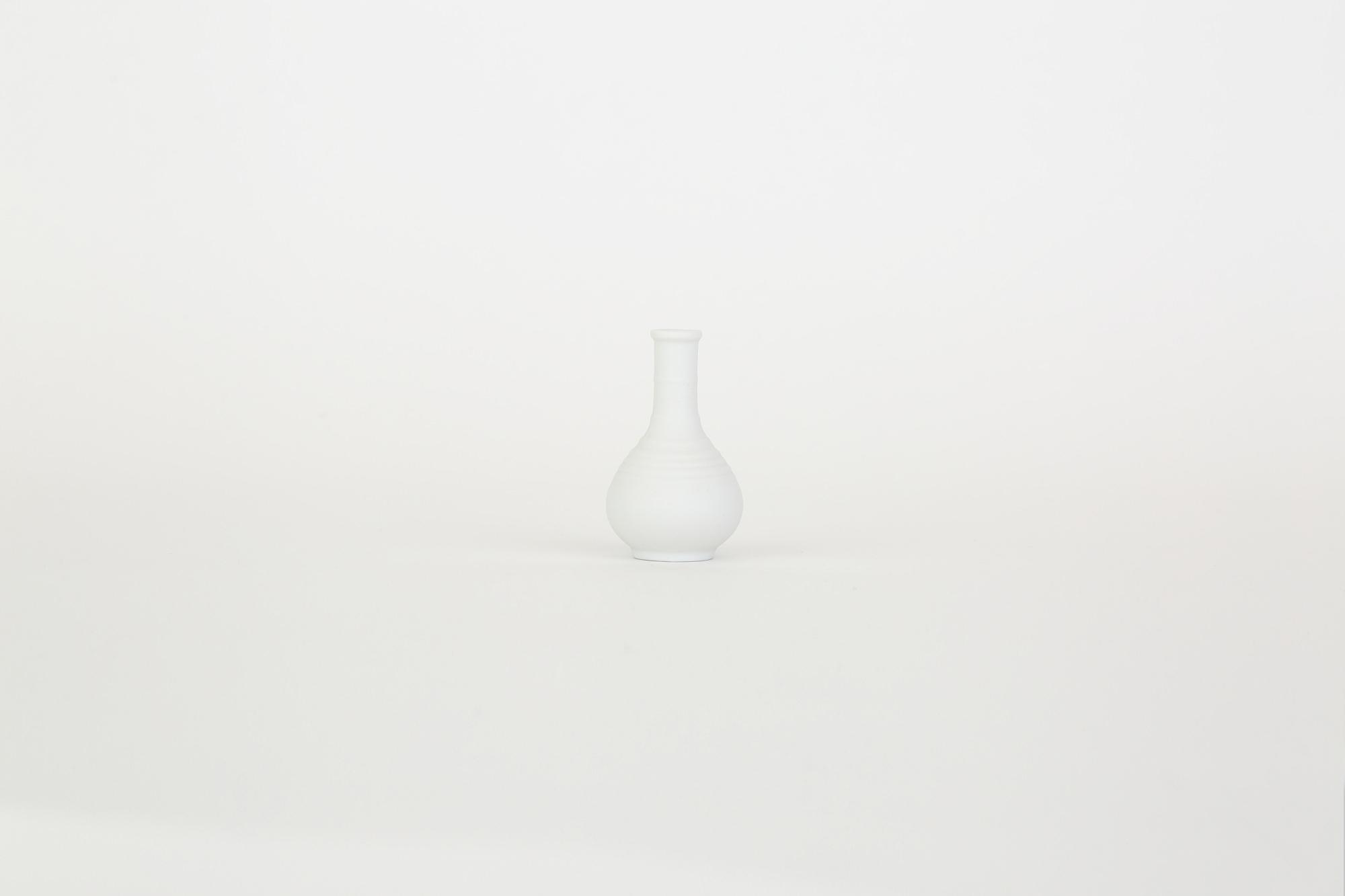 白磁 筍型涙壷