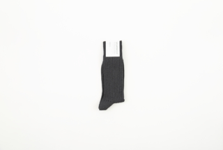 メンズリブ靴下