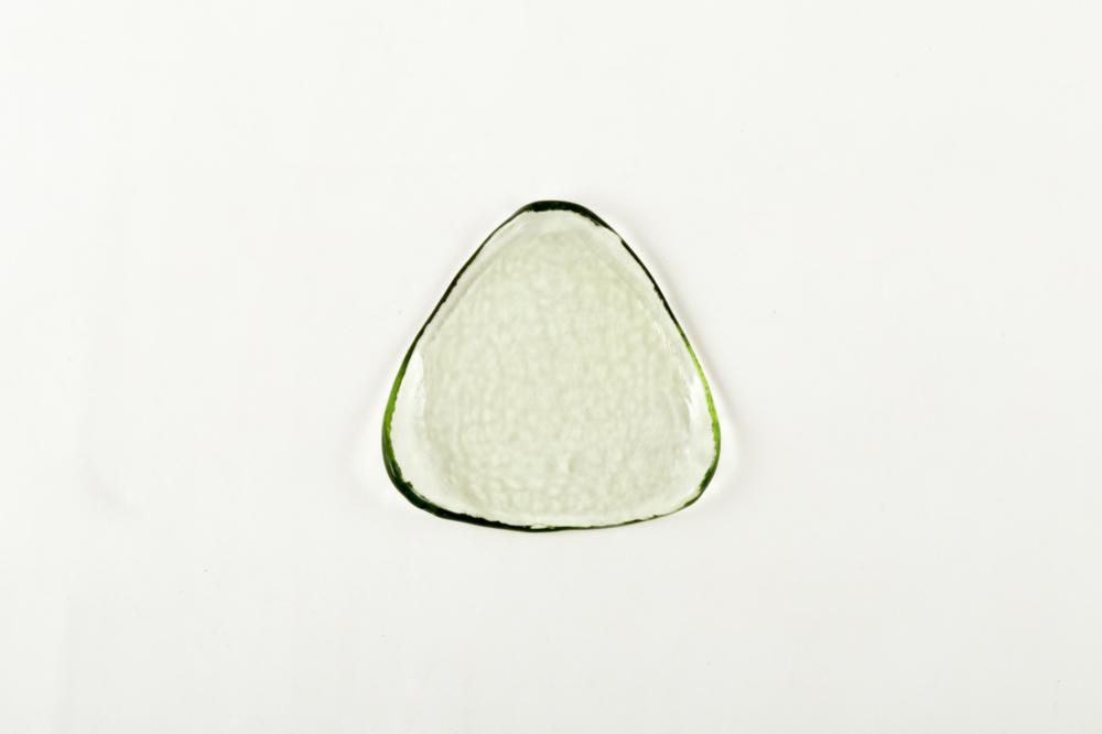 のばし三角皿 S