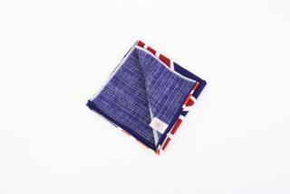 綿風呂敷 青海波 二四巾
