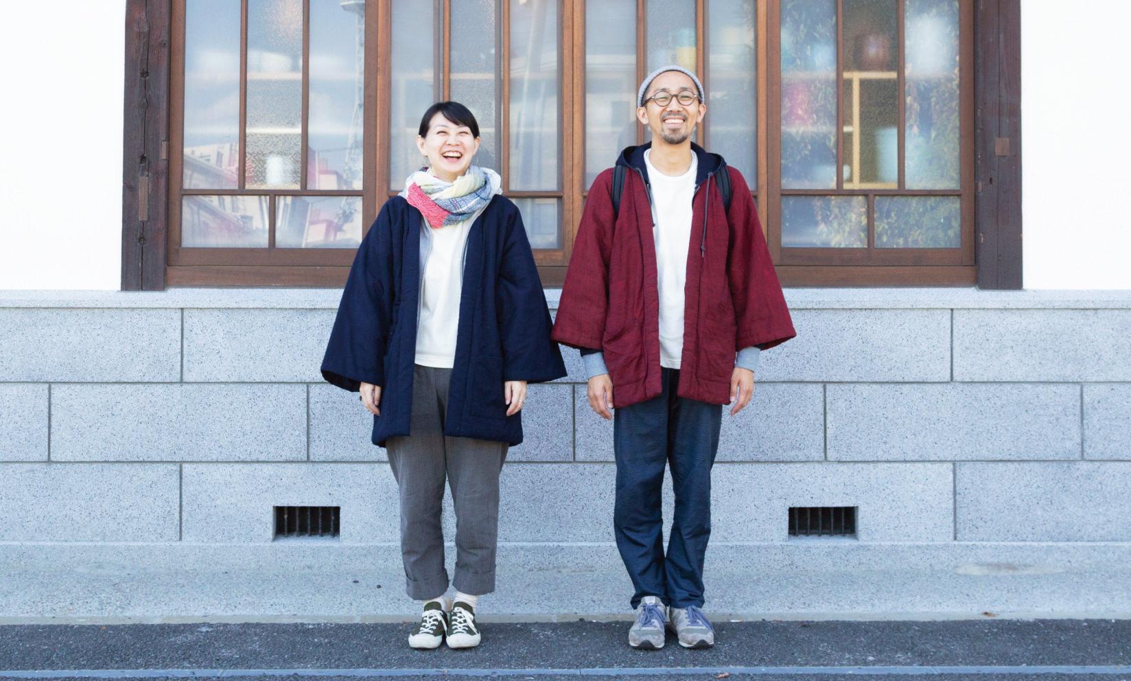 kasumi HANTEN / 宮田織物×うなぎの寝床