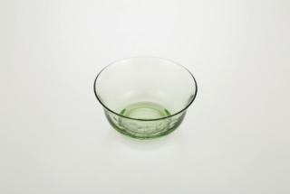 中鉢 花切り子(椿)