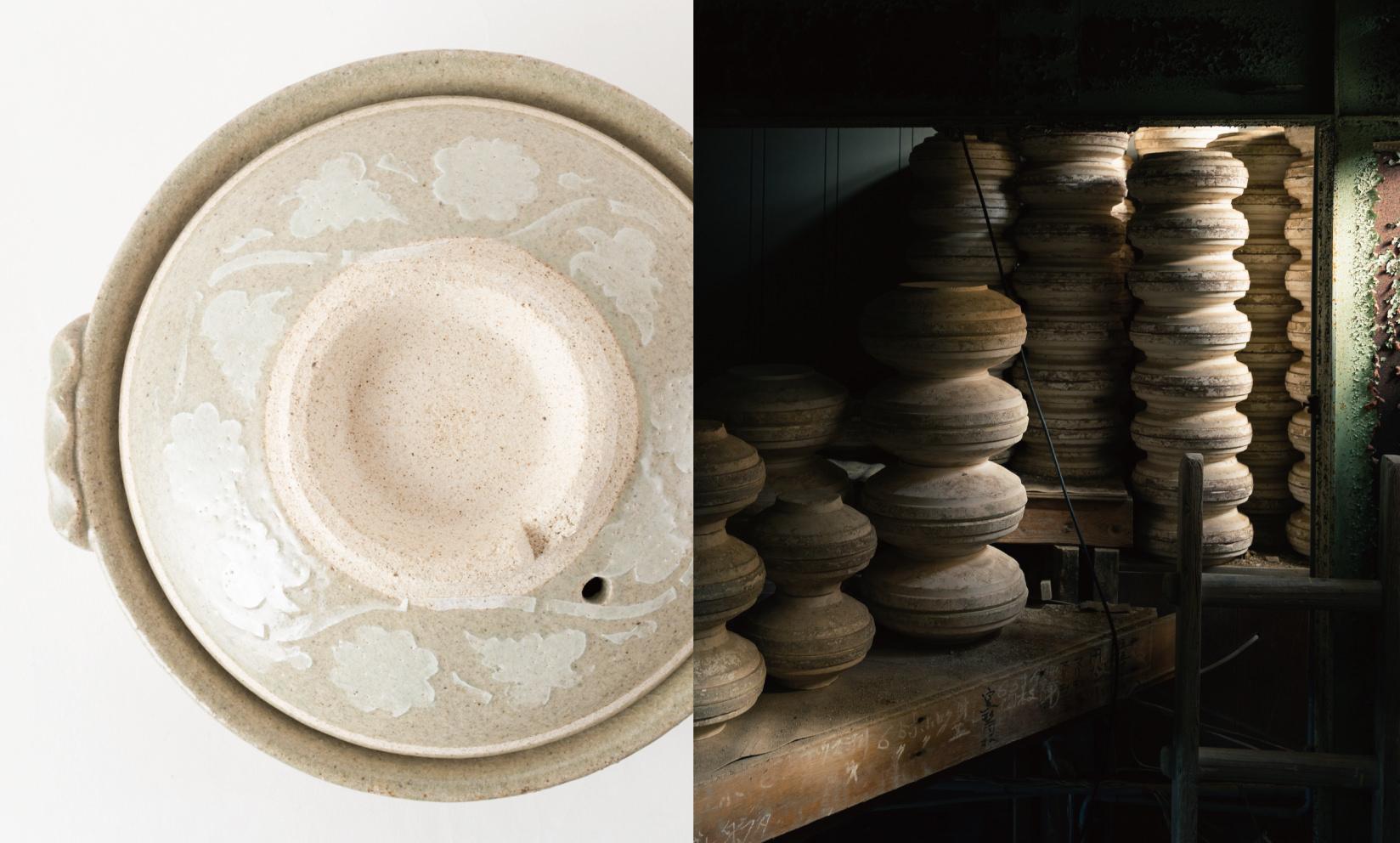 土鍋専門窯元 平兵衛製陶所(長崎県佐世保市)/ 浅くて食材が取りやすい。お鍋、雑炊、うどんにどうぞ。