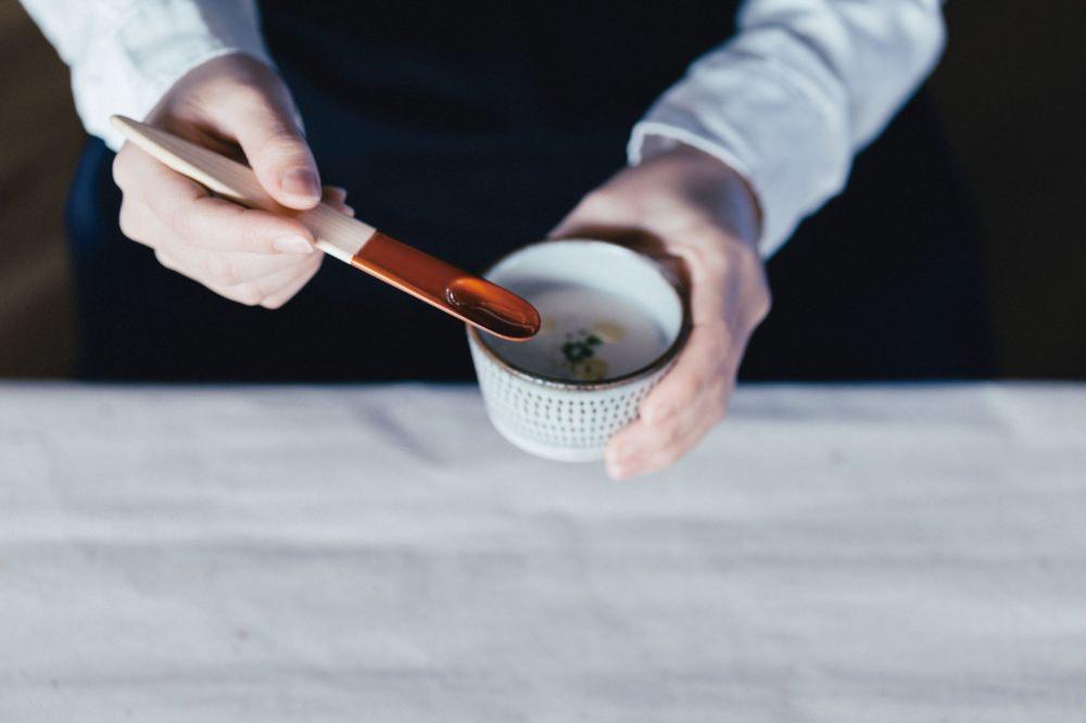 JIGU バターナイフ 半漆