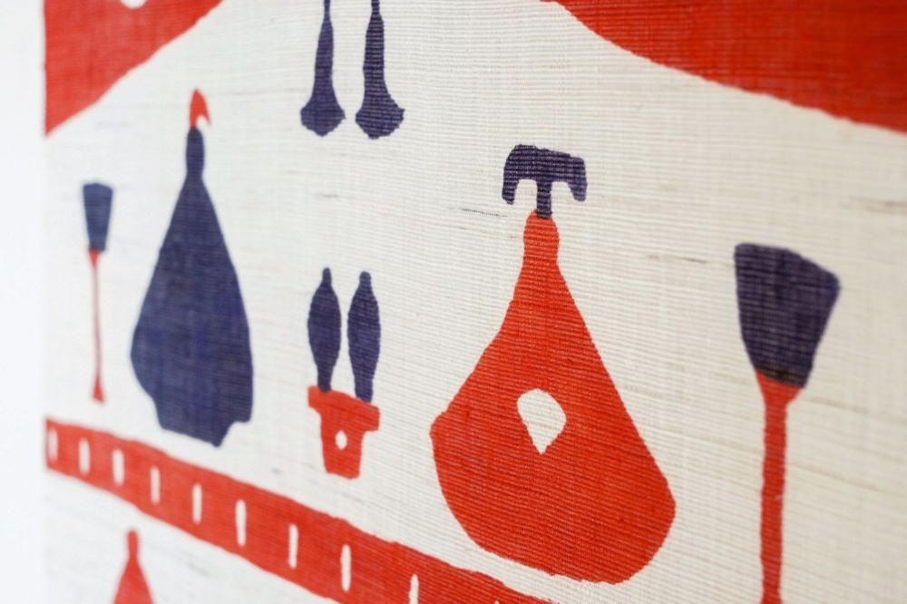 よつめ染布舎 タペストリー 桃の節句 七段飾り