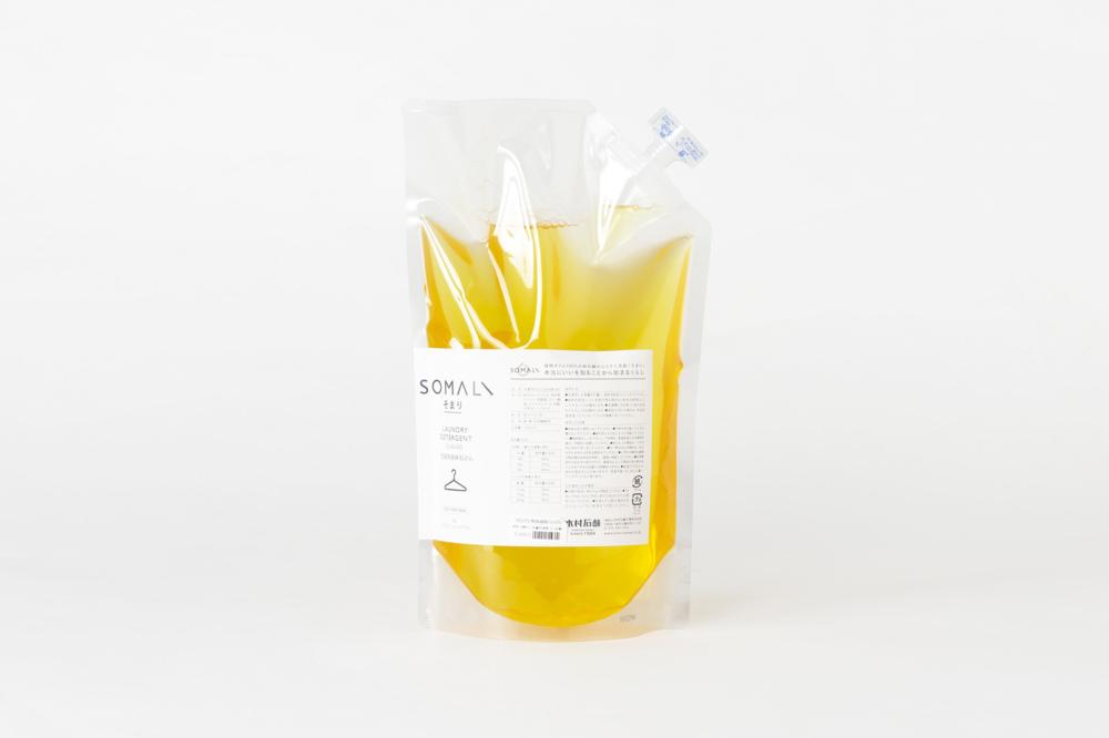 木村石鹸 SOMALI 洗濯用液体石けん 1L 詰め替え