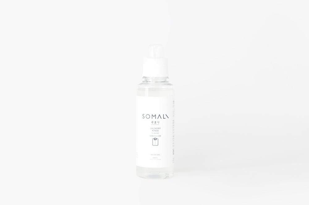 木村石鹸 SOMALI 衣類のリンス剤 600ml