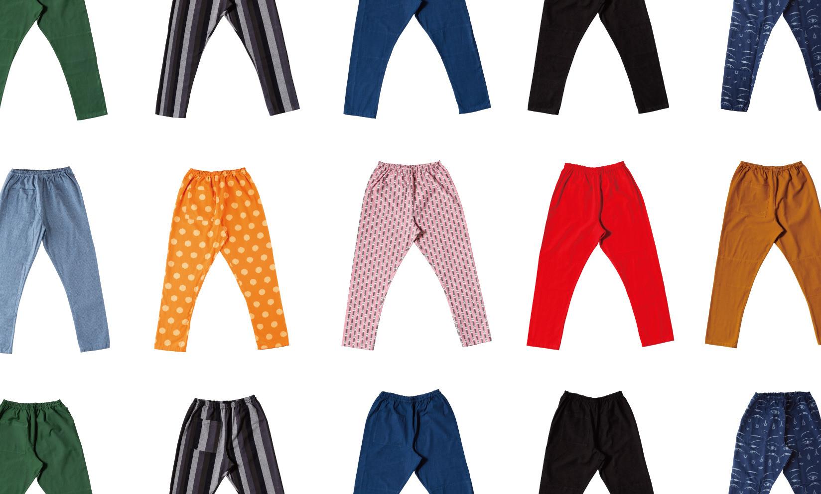 """日本のジーンズ """"MONPE"""" / 久留米絣の着心地を体感してほしい"""
