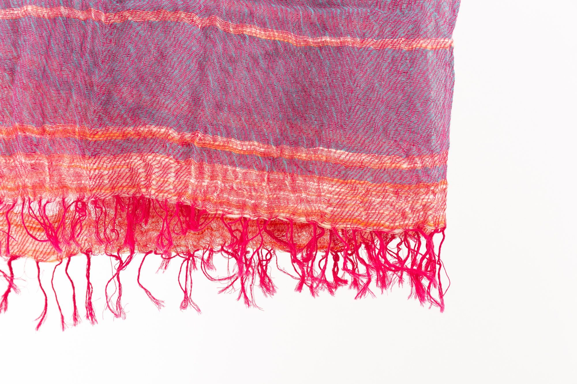 BIG cotton100% roots shawl 8