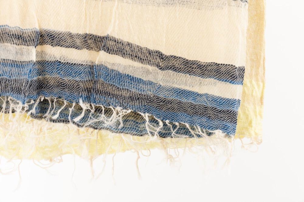 BIG cotton100% roots shawl 5