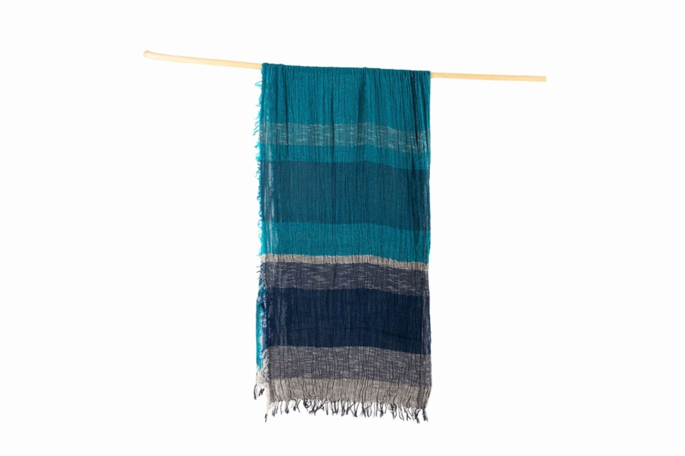 BIG cotton100% roots shawl 3
