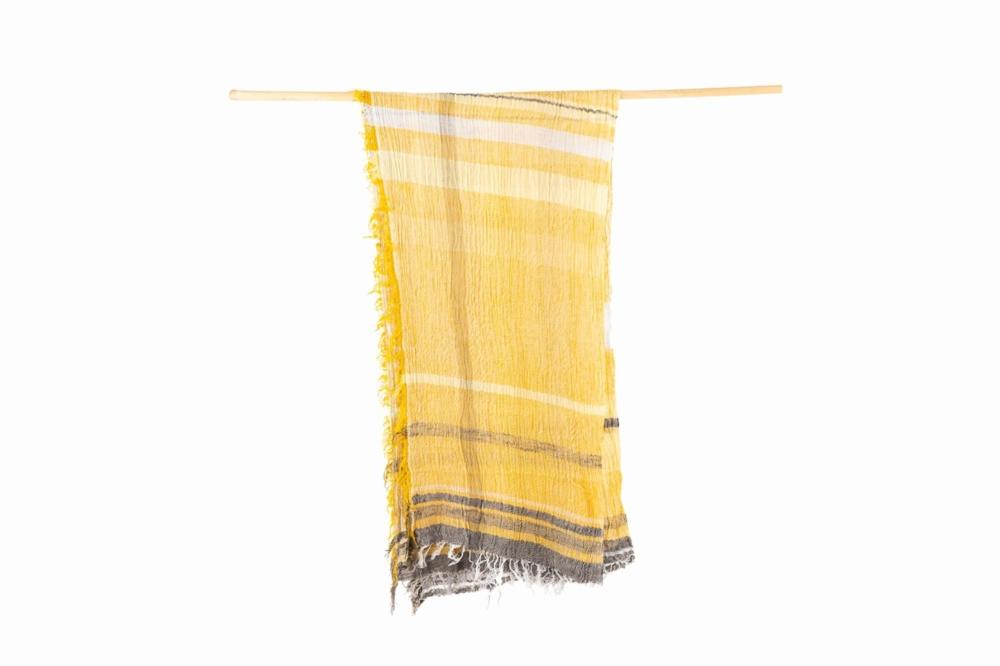 BIG cotton100% roots shawl 6
