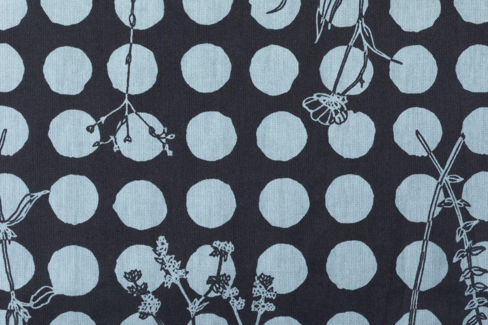 ショートステテコ 手描きの花
